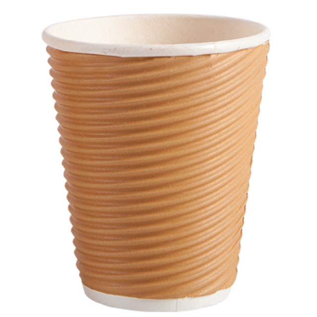 8oz 瓦楞杯